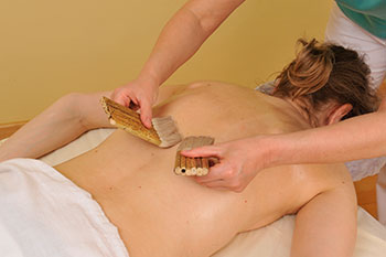 Wellnessmassage: Schokoladenmassage